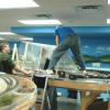 Elmore Scenery Construction 9/1/06
